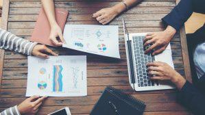 Travail collaboratif avec le coffre-fort numérique entreprise