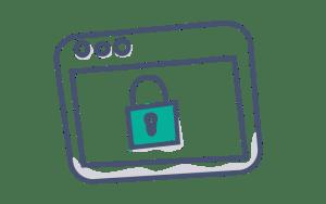 icone coffre-fort numérique sécurisé GererMesAffaires.com