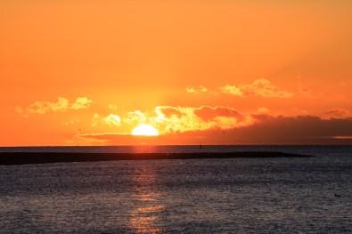 Sonnenaufgang Punta Arenas