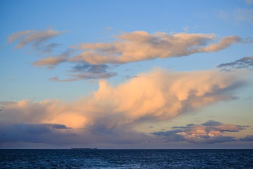 Die Isla Magdalena im letzten Abendlicht