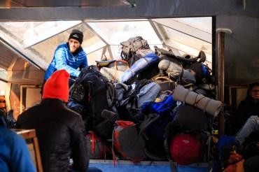 Schwerlasttransport von Pehoe zum Paine Grande