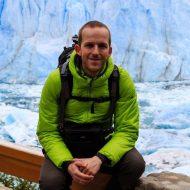 Gerhard am Perito Moreno Gletscher