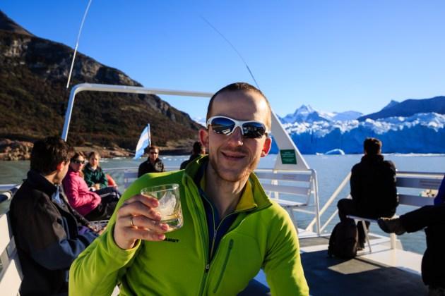Whisky on the Rocks - Bei Gletschereis mache sogar ich mal ne Ausnahme...