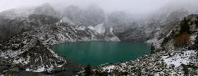 Schweißtreibender Aufstieg zur Lagune