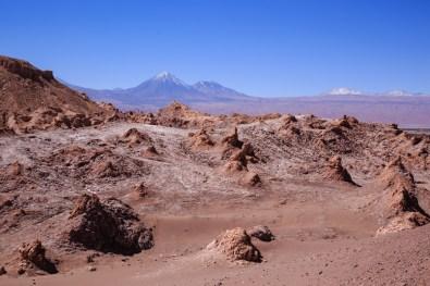 Valle de la Luna mit Licancabur