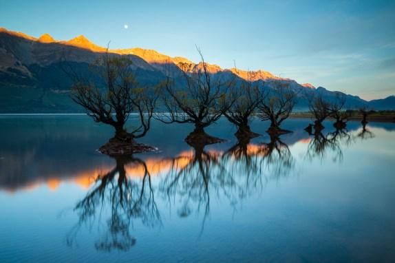 Glenorchy bei Sonnenaufgang