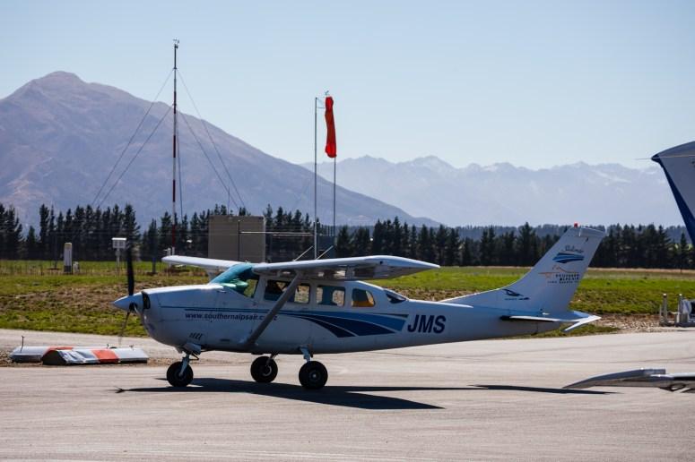 Unsere Cessna für den Rundflug