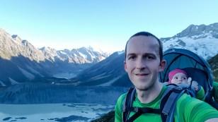 Schweißtreibender Aufstieg zu den Sealy Tarns
