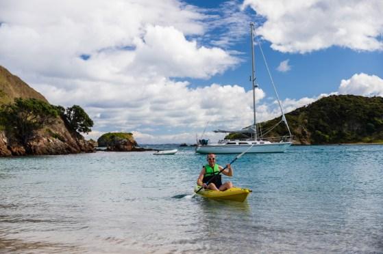 Sogar Kayaks waren dabei