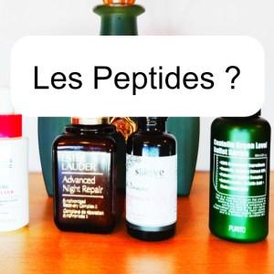 C'est quoi les peptides ? A quoi sert un peptide dans mes cosmétiques?