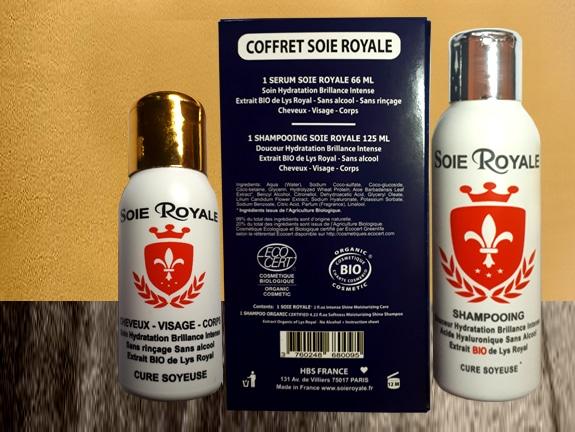 Soie Royale soin cheveux de soie : serum et shampoing