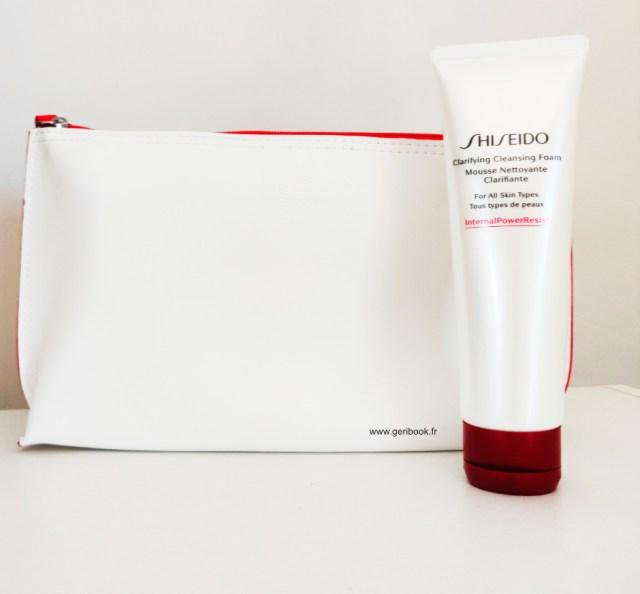 avis shiseido Mousse Nettoyante Clarifiante visage Shiseido artemisia riz