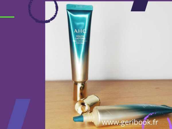 avis AHC Real Eye Cream For Face Youth Lasting – crème visage yeux Coréenne
