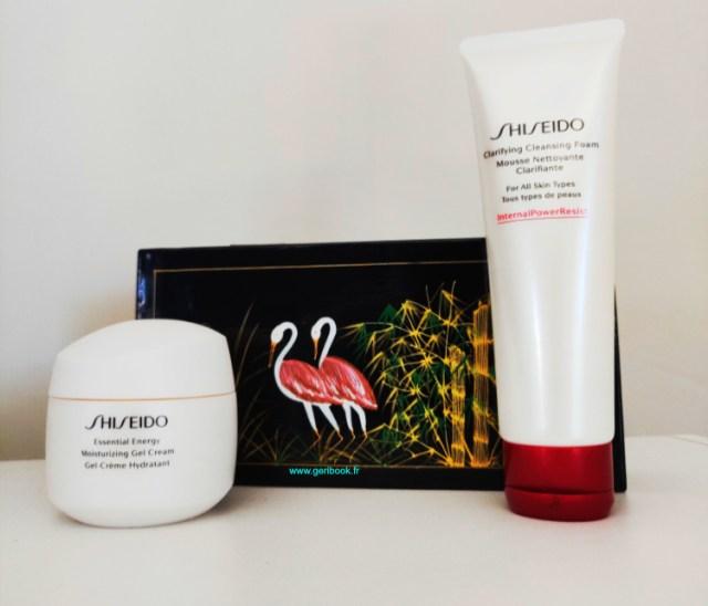 avis shiseido Mousse Nettoyante Clarifiante visage Shiseido nettoyant moussant doux grain de riz artemisia
