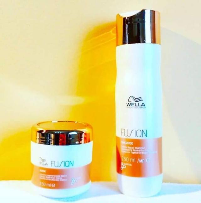 avis wella fusion masque shampoing cheveux