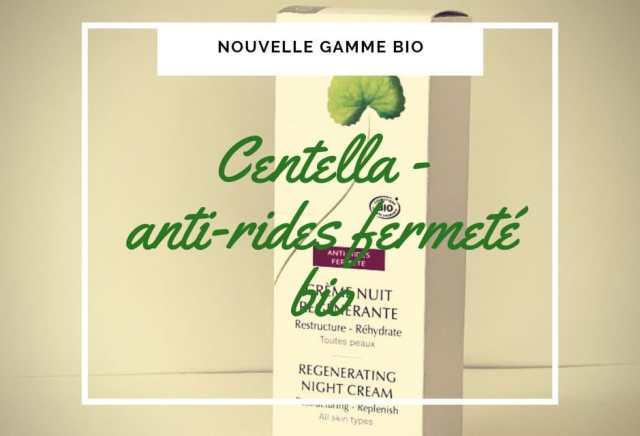 cosmetique bio centella antiride fermete