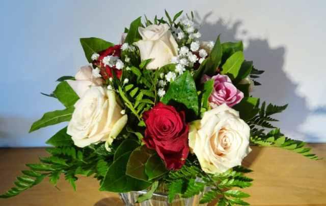 interflora bouquet fleur amour valentin CADEAU