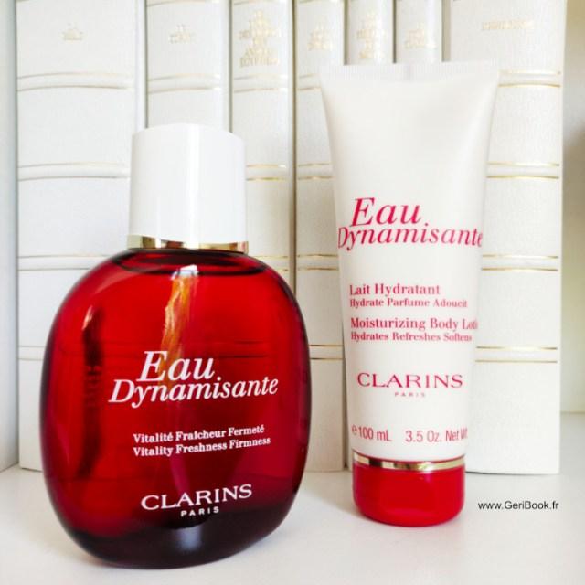 parfum corps eau dynamisante Clarins