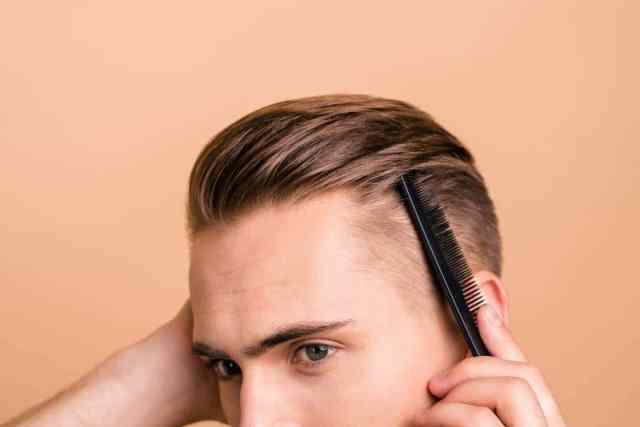 gel cire coiffure homme