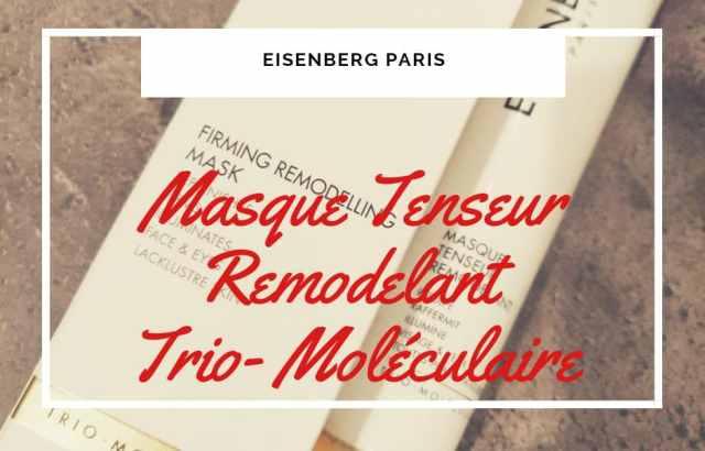 Masque tenseur remodelant d'Eisenberg