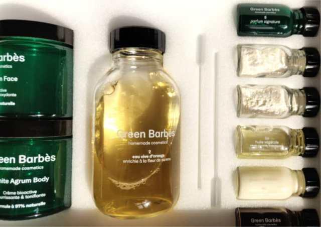soin visage naturel maison green barbes