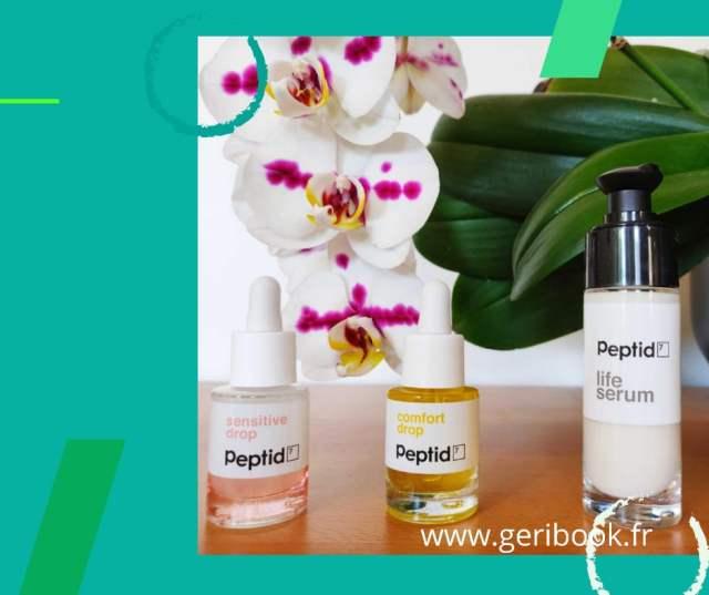 avis Peptid7 traitement rides peptide visage