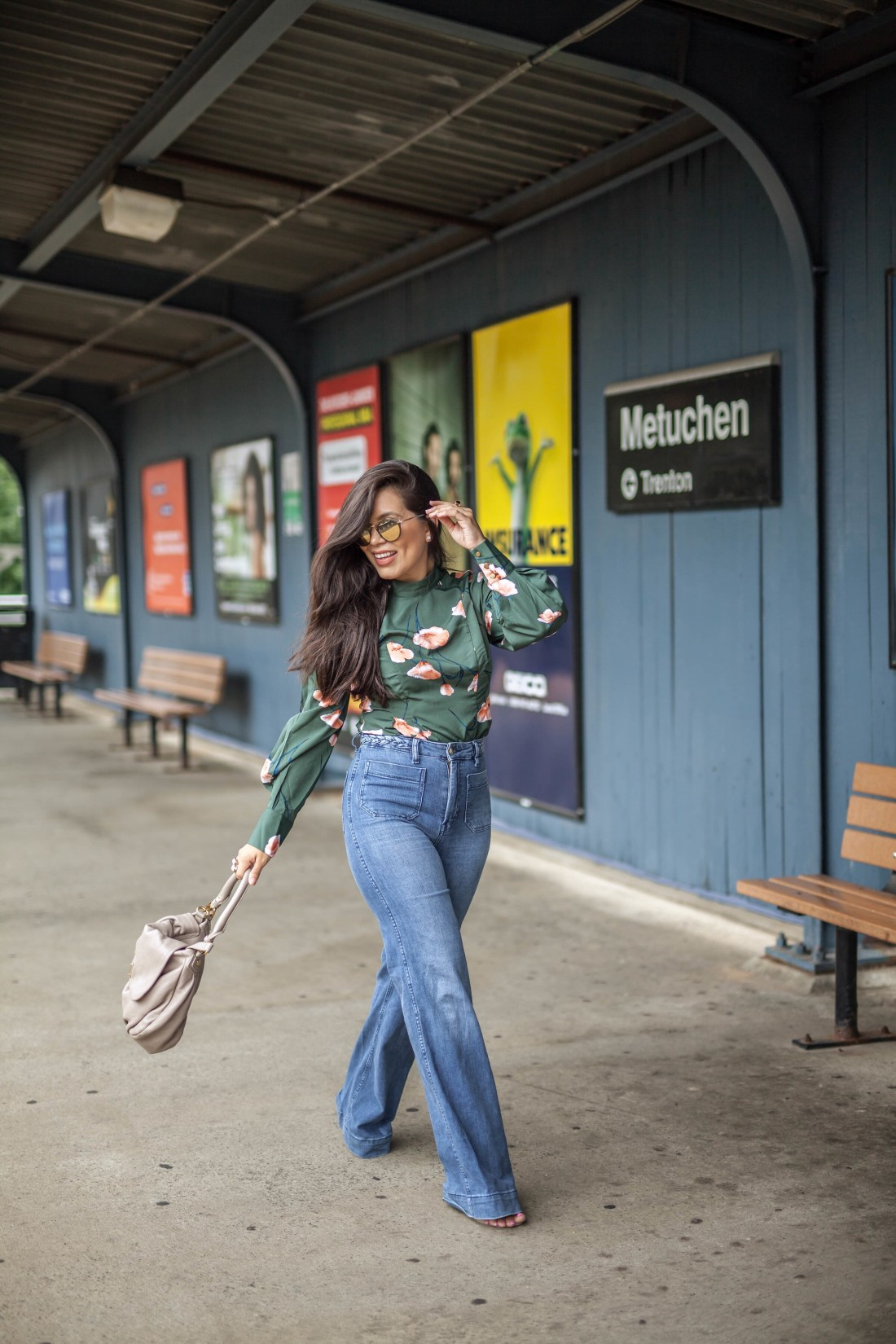 How to do a photoshoot at a train station