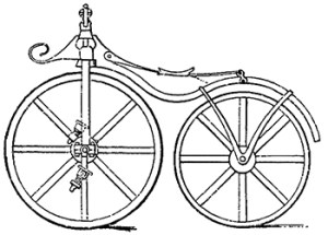 Father of the bicycle - Lallement's Bicycle