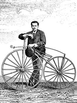 Father of the bicycle - Ernest Michaux