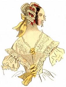 1830s Bonnets, Author's Collection