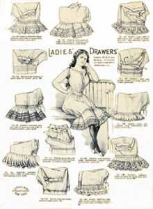Dressing Order for Ladies: Ladies Drawers, Author's Collection