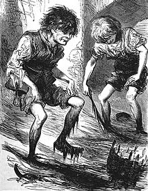 Two Mudlarks, Public Domain