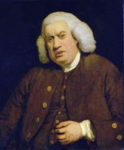 Dr. Samuel Johnson, Courtesy of Wikipedia