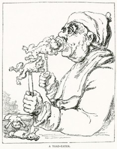A Toad Eater Illustrated by Joseph Grego, Author's Collection