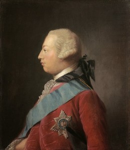 George III in 1762, Courtesy of Wikipedia