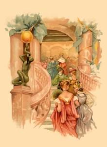 Ballroom etiquette - attending a ball