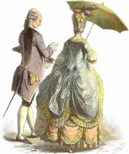 Parasol of the 1780s, Author's Collection