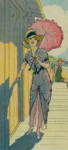 Parasol on a Sunny Day, Courtesy of Library of Congress