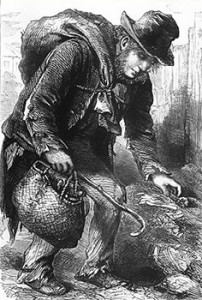 The Rag-and-bone Man with His Greasy Bag and Mat-basket, Public domain