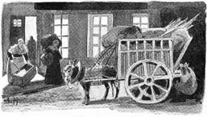 Rag-and-bone Man's Cart, Public Domain