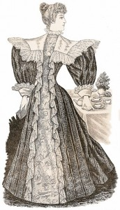 Tea-Gowns 1896, Author's Collection