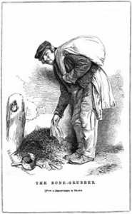 One of the Rag-and-Bone Men known as a Bone-Grubber, Public Domain