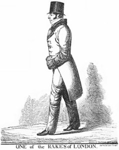 Danides of White's - Thomas Raikes Based on Caricature by Richard Dighton, Public Domain