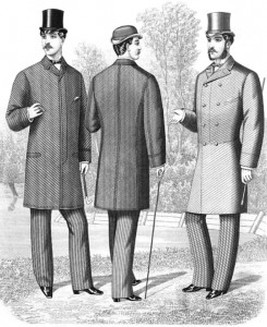 Frock Coats of the Late 1800s, Public Domain