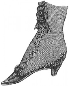 Ladies Boot, Author's Collection