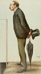 Vanity Fair character of 1895 - Montague Shearman