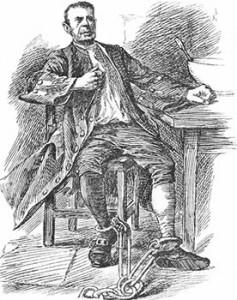 Jonathan Wild in Chains, Public Domain