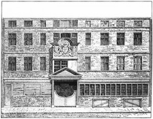 Wood-street Comptr in 1793, Public Domain