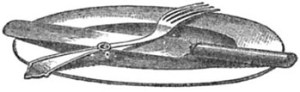 Knife, fork, and spoon etiquette