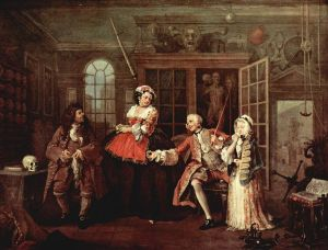 Parisian Quack: Visit to the Quack Doctor by William Hogarth